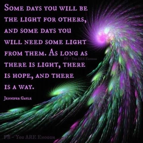 Quotes About Being A Light Quotesgram