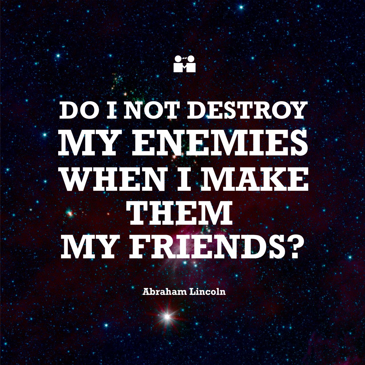 destroy you enemy by making them