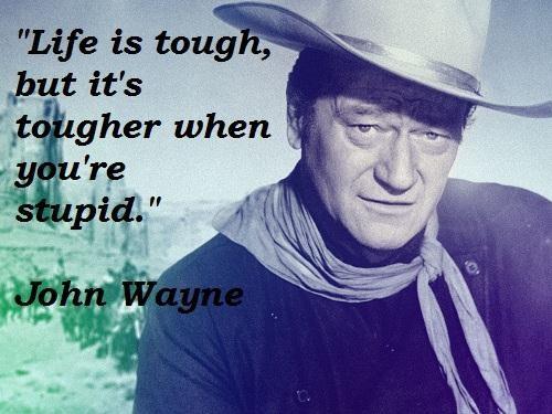 Inspirational Quotes John Wayne. QuotesGram