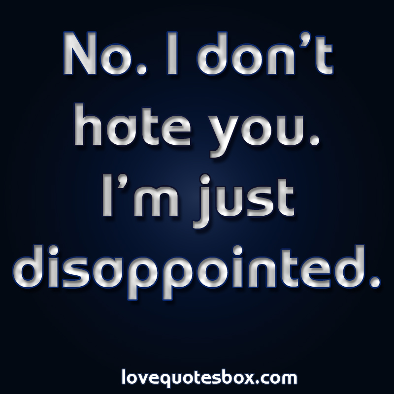 Sad Quotes Quotesgram: Sad Quotes About Disappointment. QuotesGram