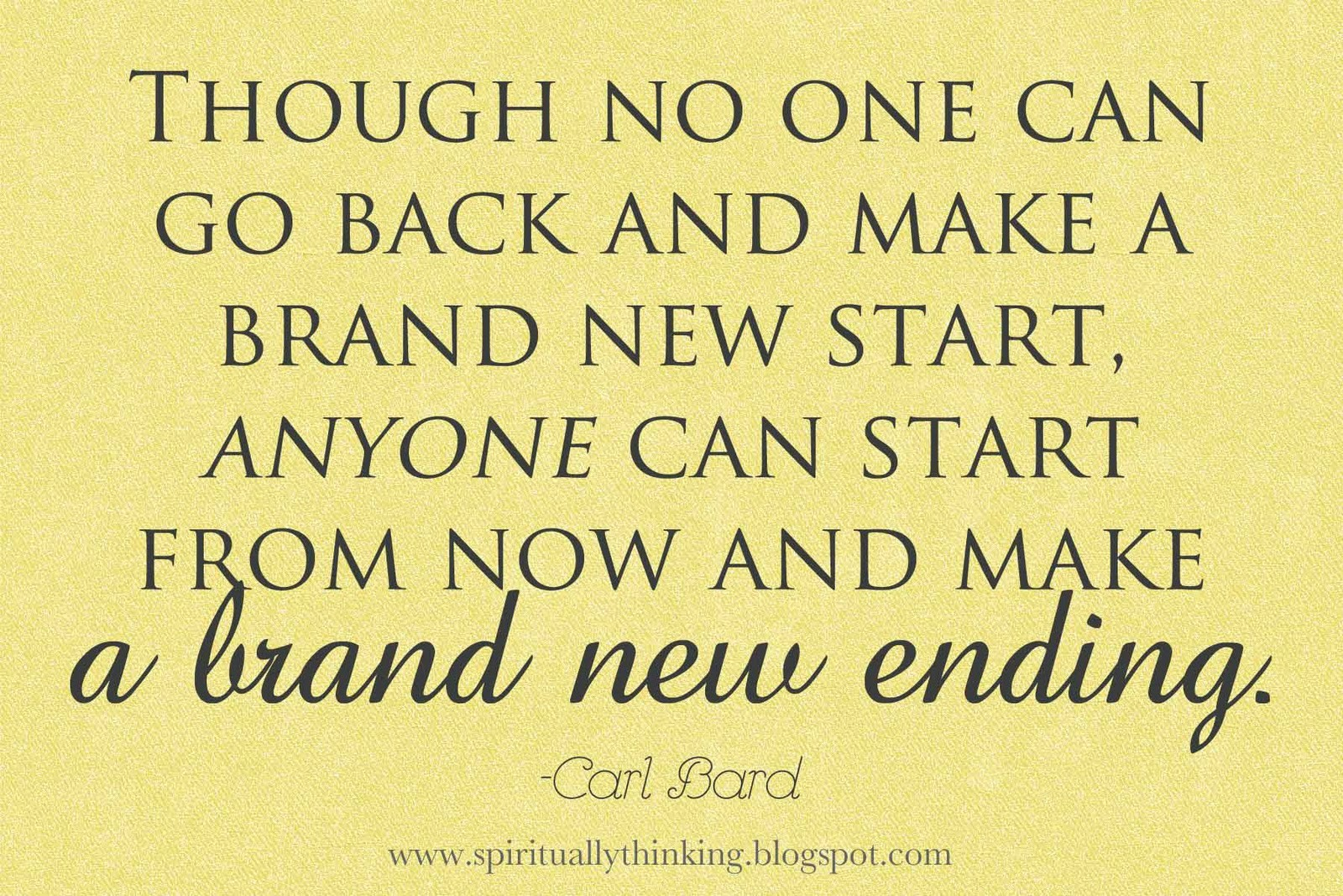 quotes about a fresh start in relationship
