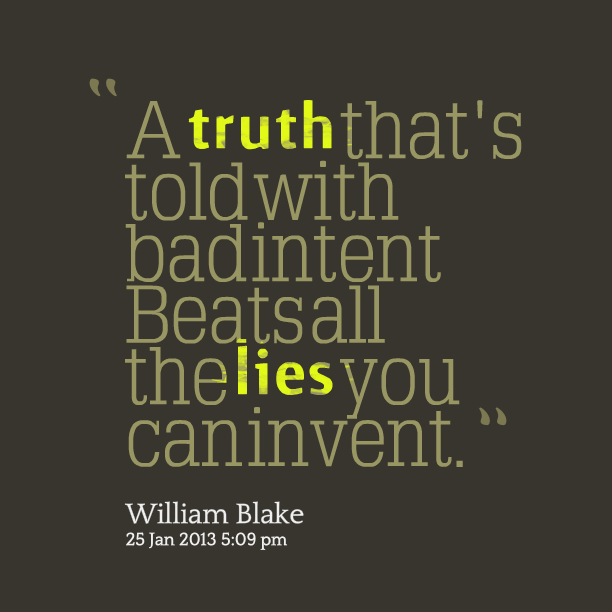 Quotes About Lies And Truth. QuotesGram