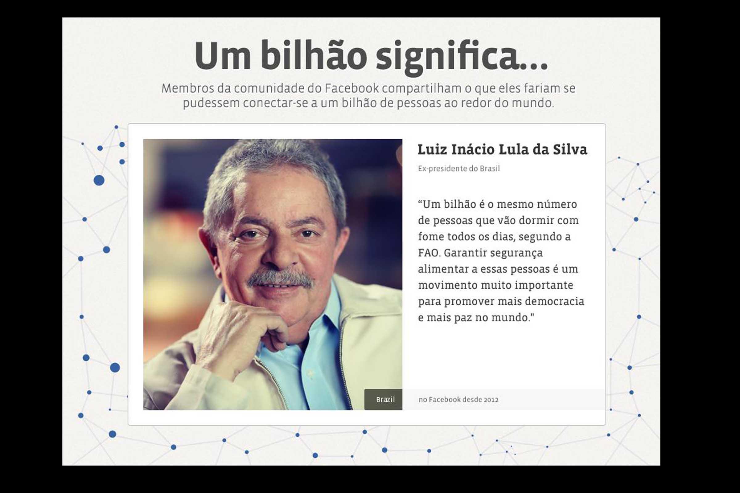 luiz inacio lula da silva Luiz inácio lula da silva 756 likes 80 talking about this fan page que retrata o dia a dia do maior presidente da história do brasil falamos de.