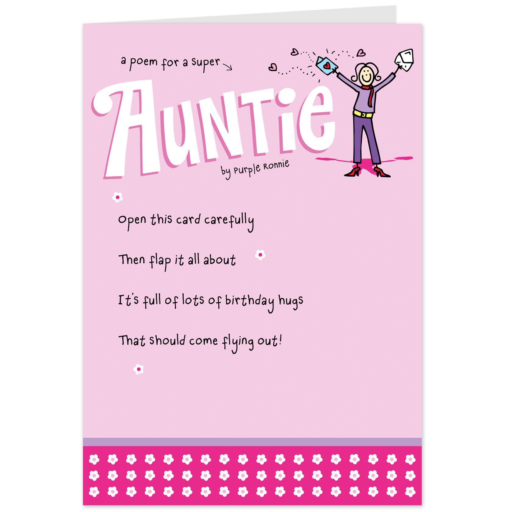 Funny Aunt Birthday Quotes. QuotesGram