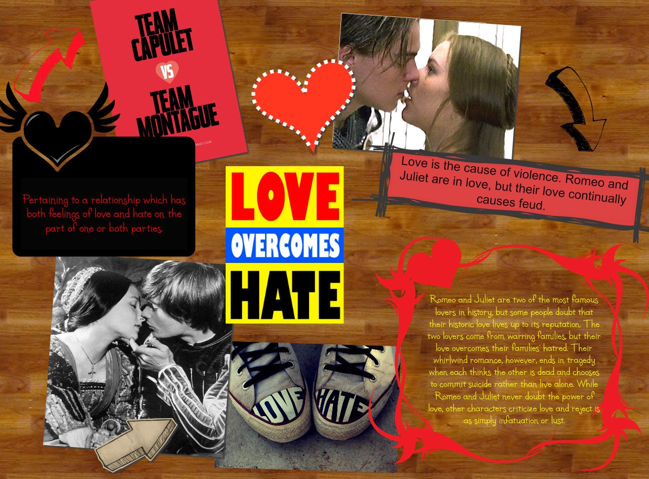 romeo and juliet love and hate comedy