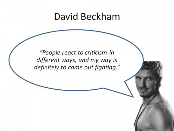 Quotes About Soccer David Beckham. QuotesGram