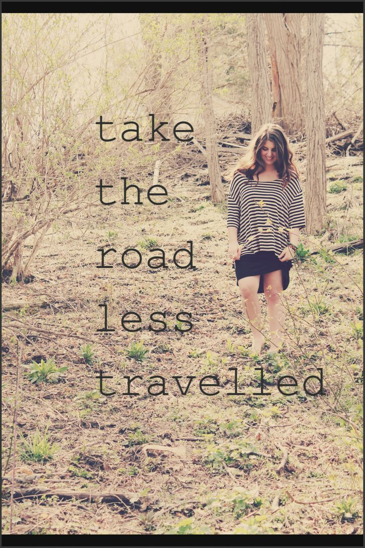 Follow The Road Less Traveled Quotes. QuotesGram