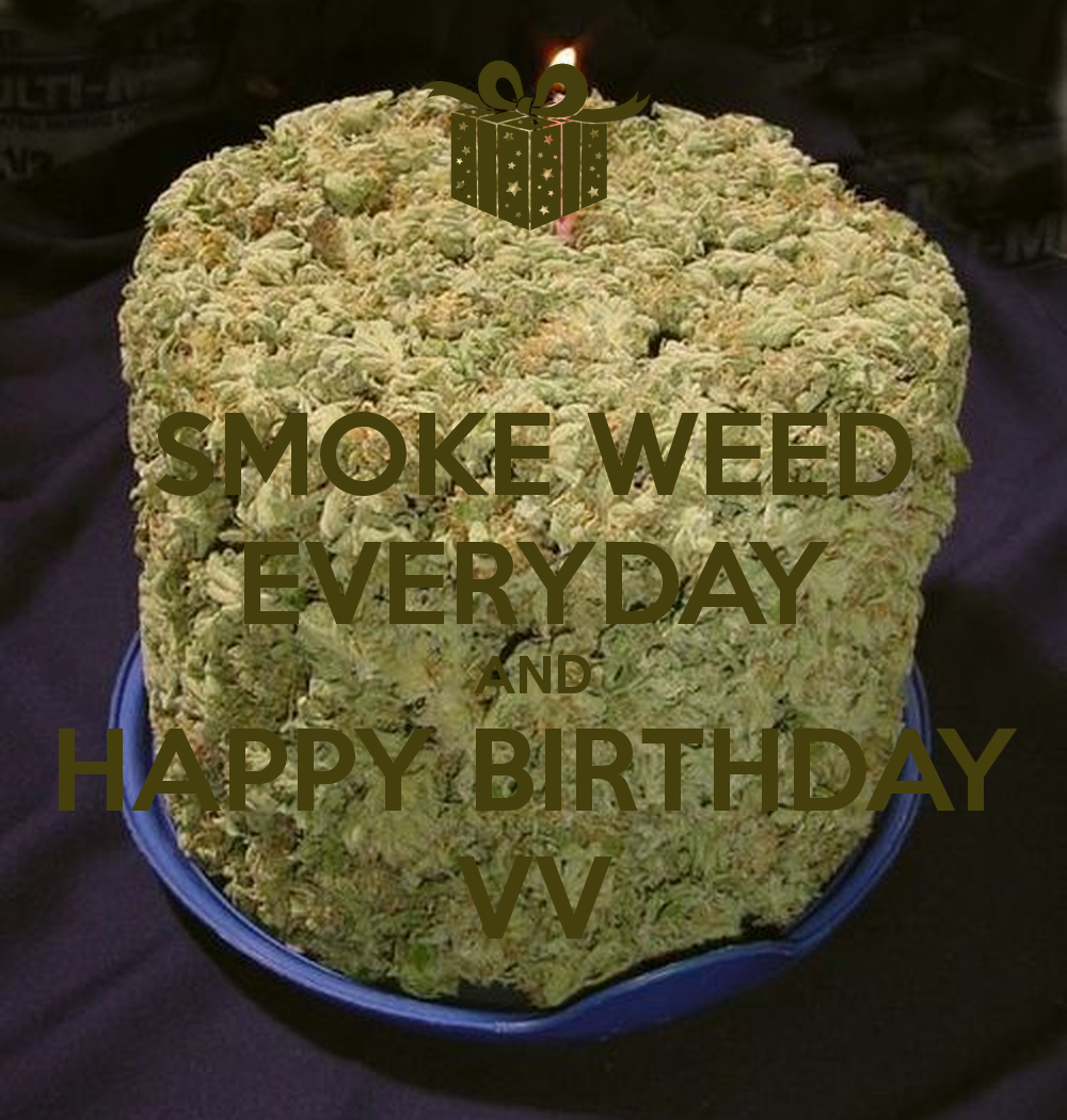 Happy Birthday Cake Weed