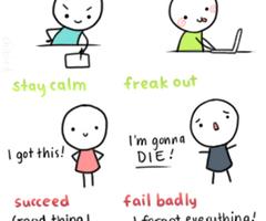 how to study for a major exam tomorrow