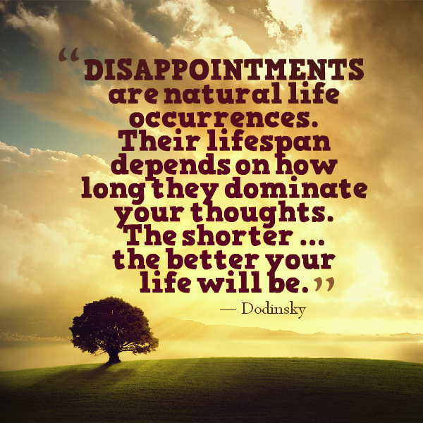 Disappointment Quotes Life. QuotesGram