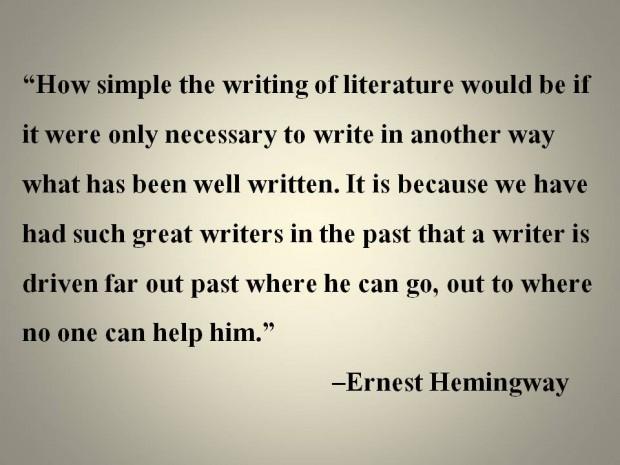 essay famous quote