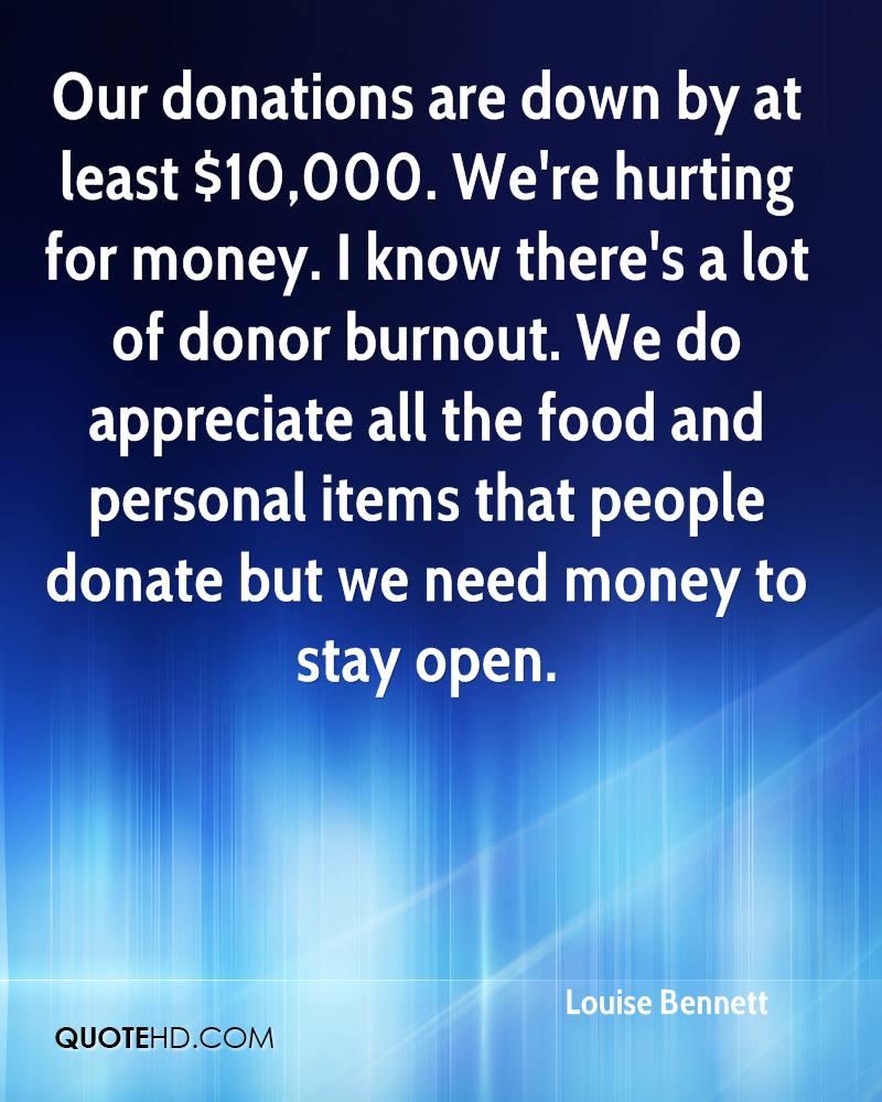 Donation Quotes: Donating Food Quotes. QuotesGram