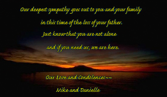 Our Deepest Sympathy Quotes. QuotesGram