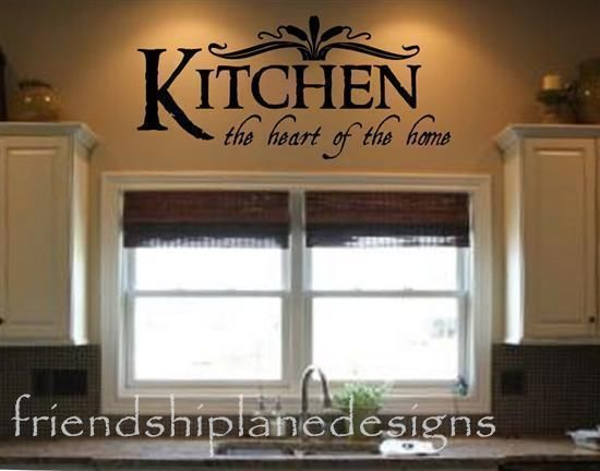 Kitchen Vinyl Wall Lettering Quotes Quotesgram