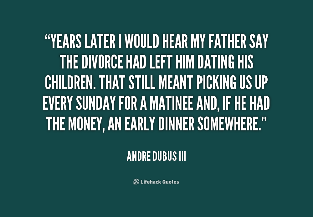 """andre dubus a fathers story My dad read me a father's story at around the same time,  it took me weeks to read andre dubus' """"selected stories"""" because they were very good and very sad ."""