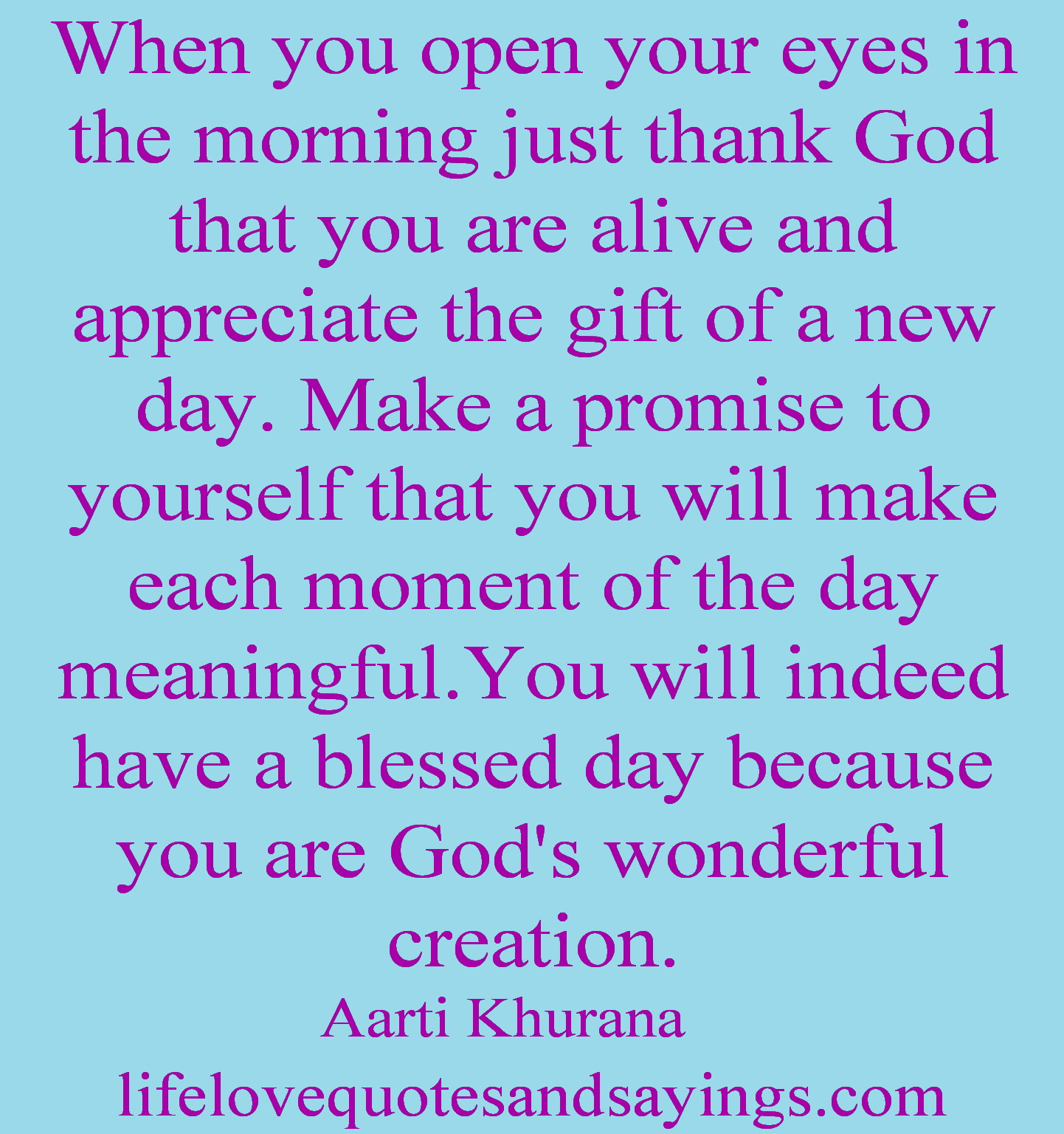 blessed day quotes and sayings quotesgram