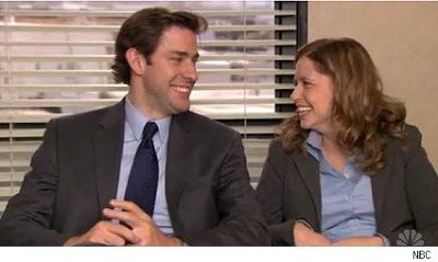 are pam and jim from the office dating in real life