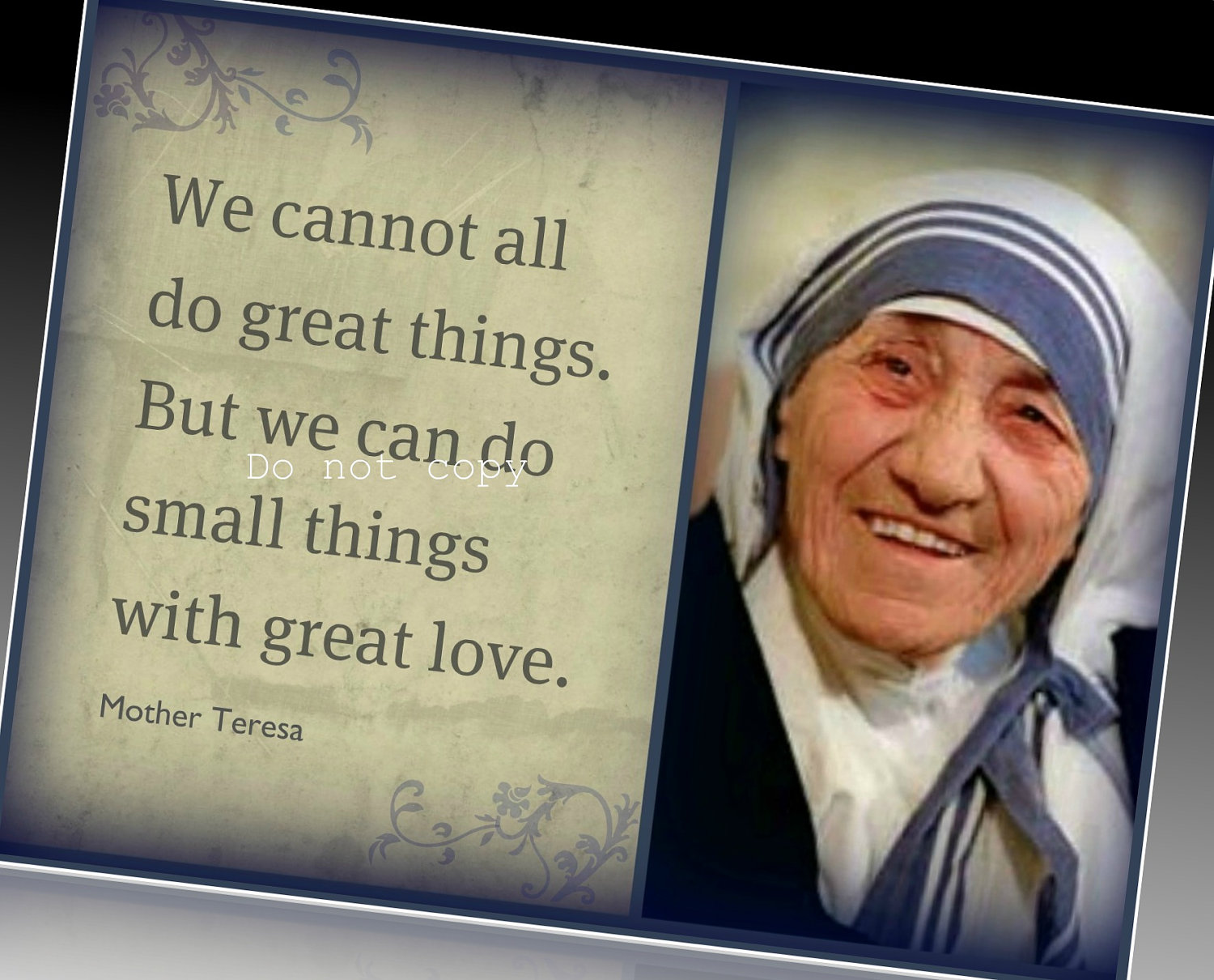 Great Love Mother Teresa Quotes. QuotesGram
