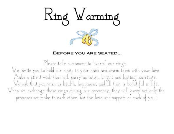Irish Wedding Ring Exchange Vows