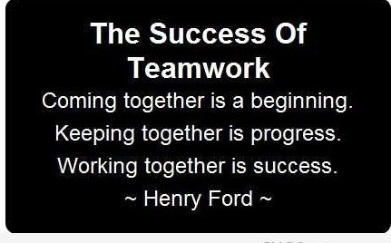 teamwork and collaboration 1 So all the way down the line you've got this collaboration, this teamwork, moving forwards to empower not just the  speaker 1: teamwork and collaboration.