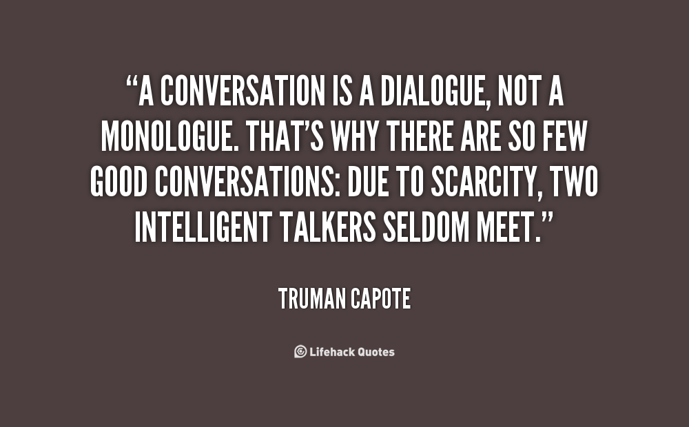 how to be a great conversationalist relationship