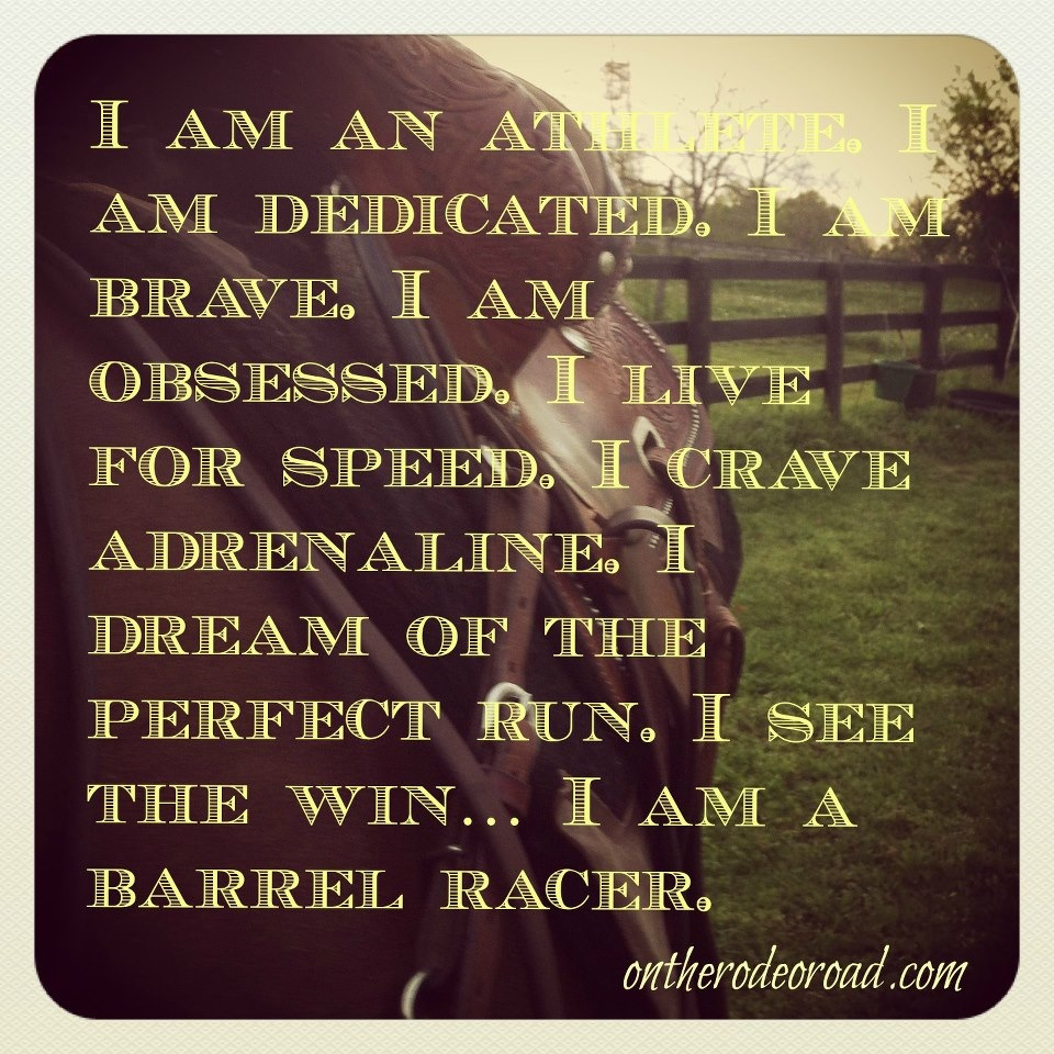 Quotes And Sayings: Cute Barrel Racing Quotes. QuotesGram