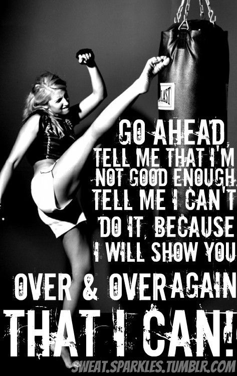 Kickboxing For Fitness Motivational Quotes Quotesgram