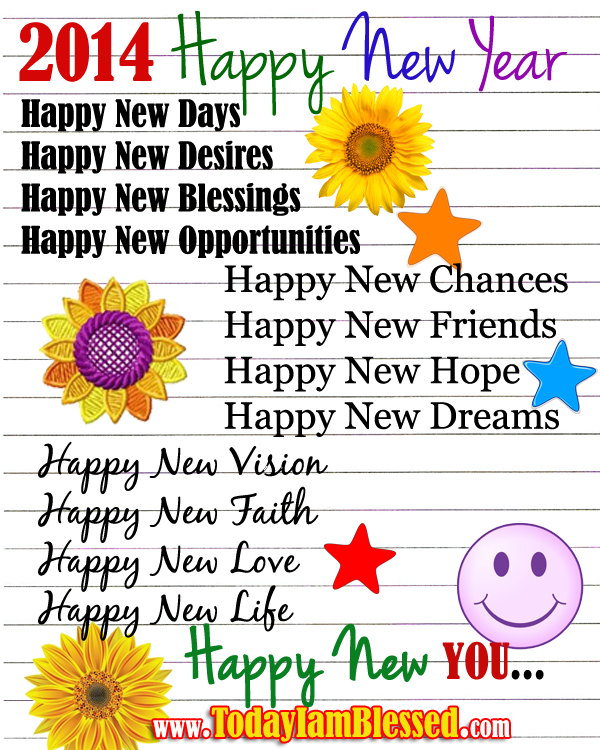 Me Gusta Funnies Happy New Year 2014: Happy New Year Christian Quotes. QuotesGram