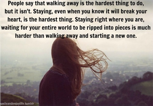 Quotes for breakups powerful 61 Best