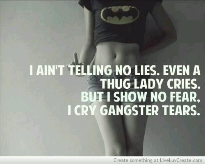 Quotes About The Streets From Gangsters: Gangsta Thug Quotes. QuotesGram