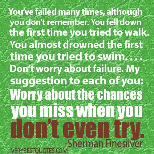 Overcoming Fear Of Failure Quotes. QuotesGram