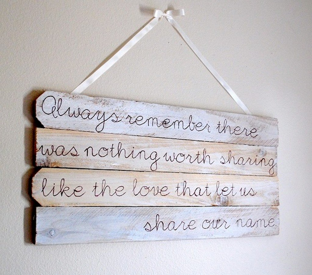 Quotes on wood art quotesgram Reclaimed wood wall art for sale