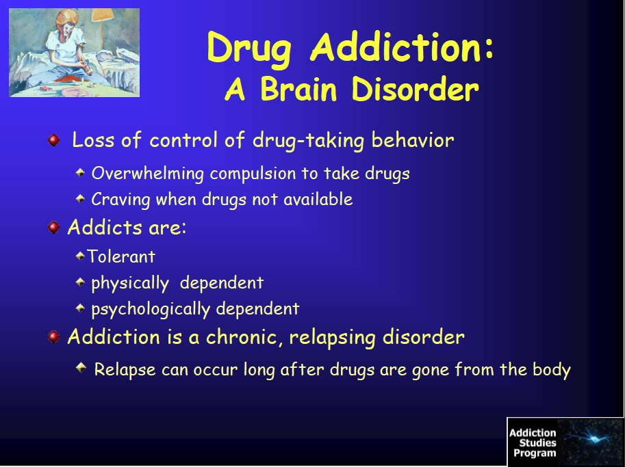 drug addiction relapse