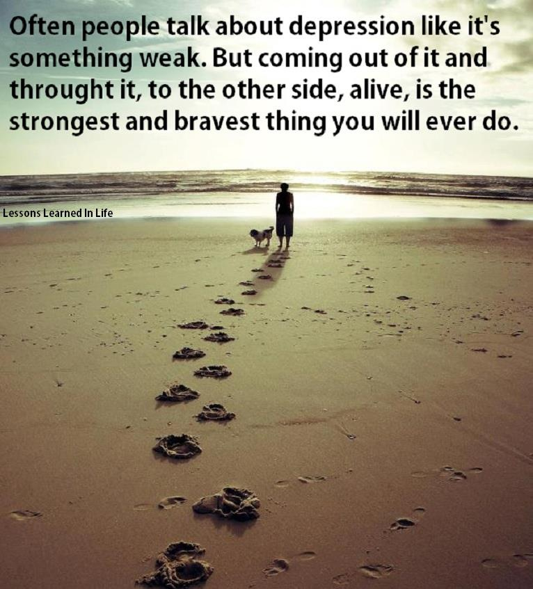 Depression Quotes To Help: Depression Quotes And Sayings. QuotesGram