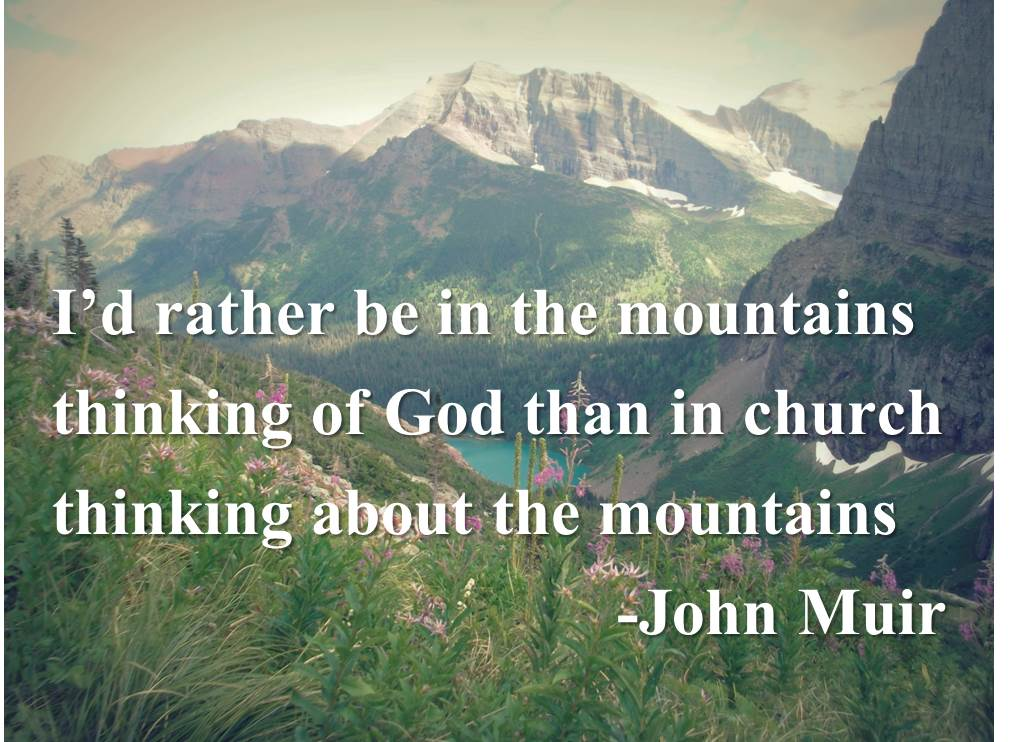 John Muir Hiking Quotes Quotesgram