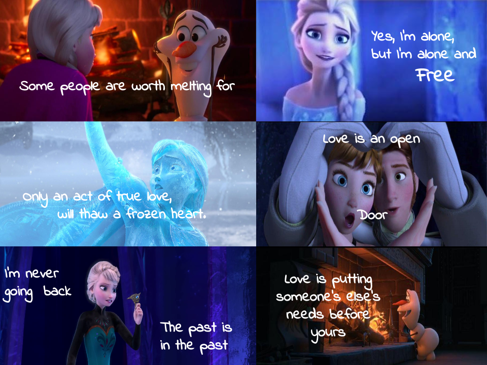 frozen quotes from quotesgram
