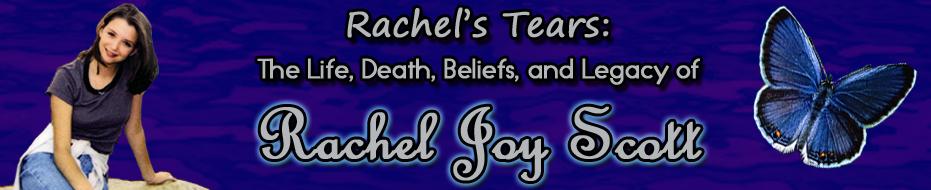 rachels challenge her essay Rachel's challenge: start your own chain reaction of kindness rachel's challenge presentation by her uncle, larry rachel's essay, rachel's challenge.