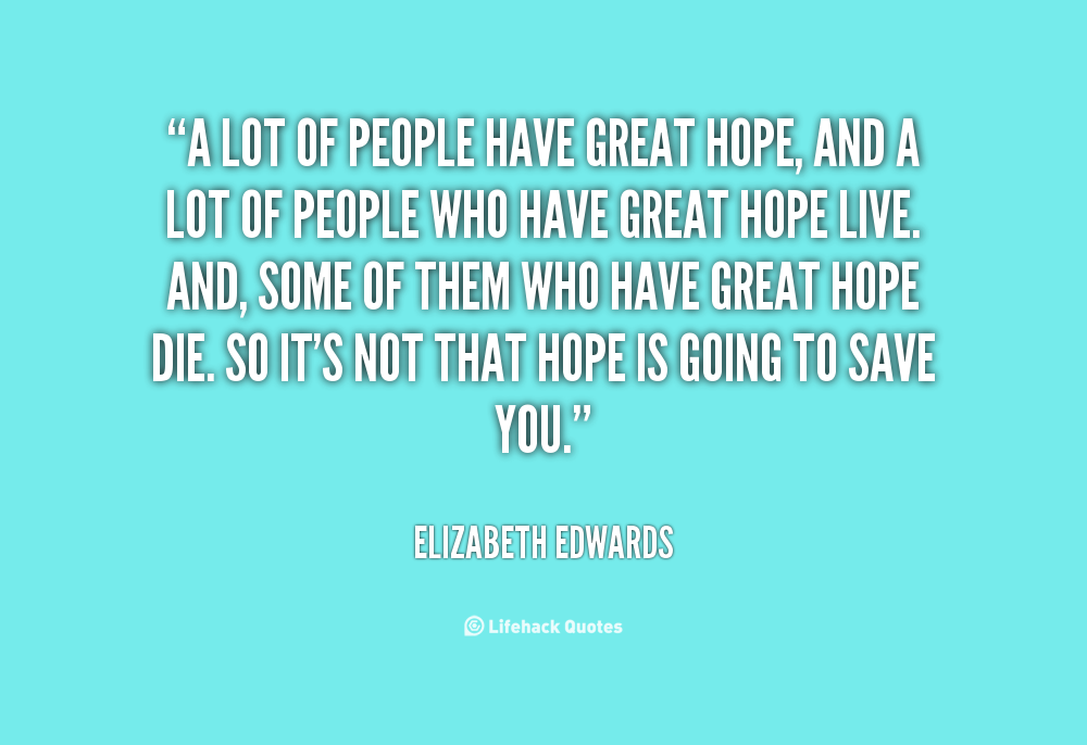 Great Quotes About Hope. QuotesGram