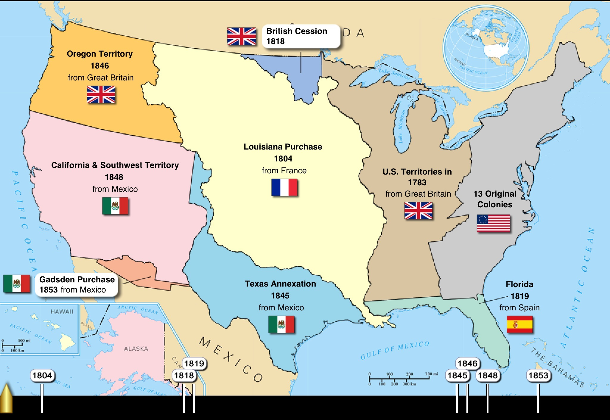 the expansionism of the united states of america The american quest for empire  to define imperialism and expansionism and how these terms were interpreted in the late  especially the united states.