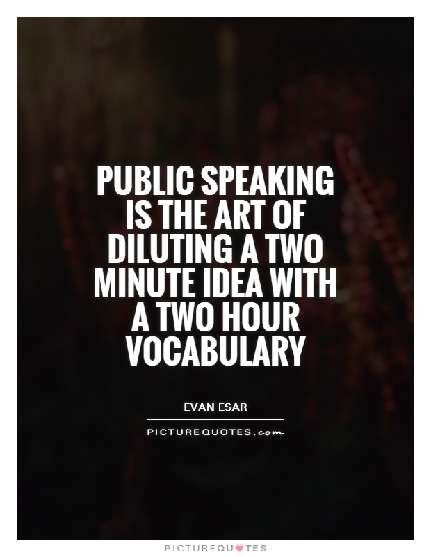 public speaking vocabulary words pdf