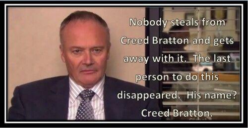 Creed Bratton: Creed Bratton Quotes. QuotesGram