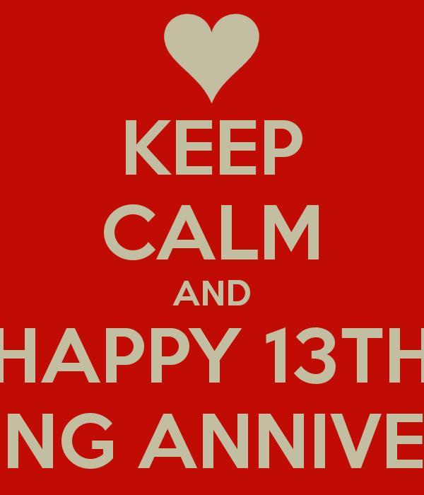 13 Year Wedding Anniversary Quotes Quotesgram