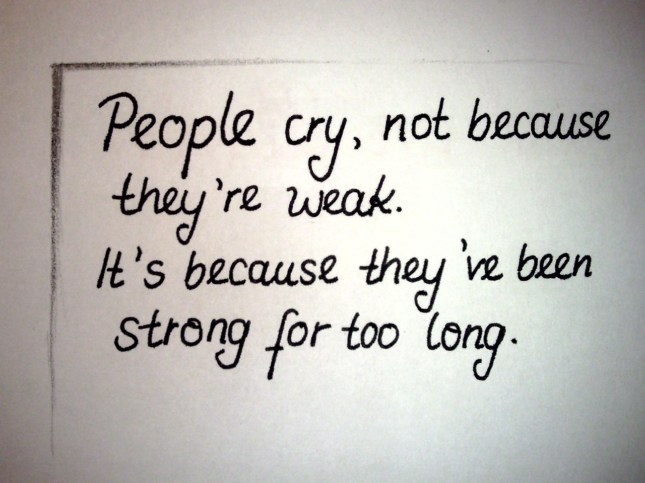Quotes About Not Crying. QuotesGram