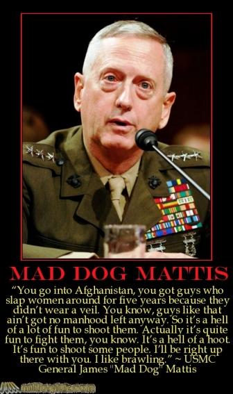 Mad Dog Mattis Quotes. QuotesGram
