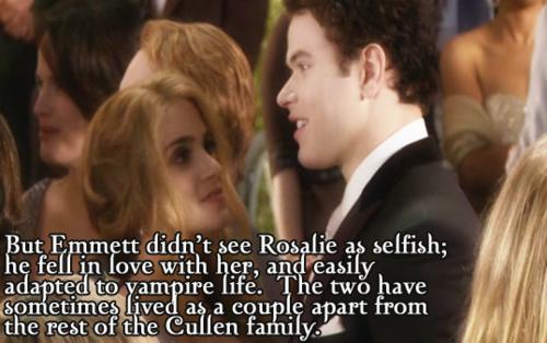 rosalie and emmett relationship