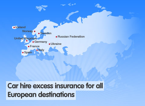 Excess Car Insurance France