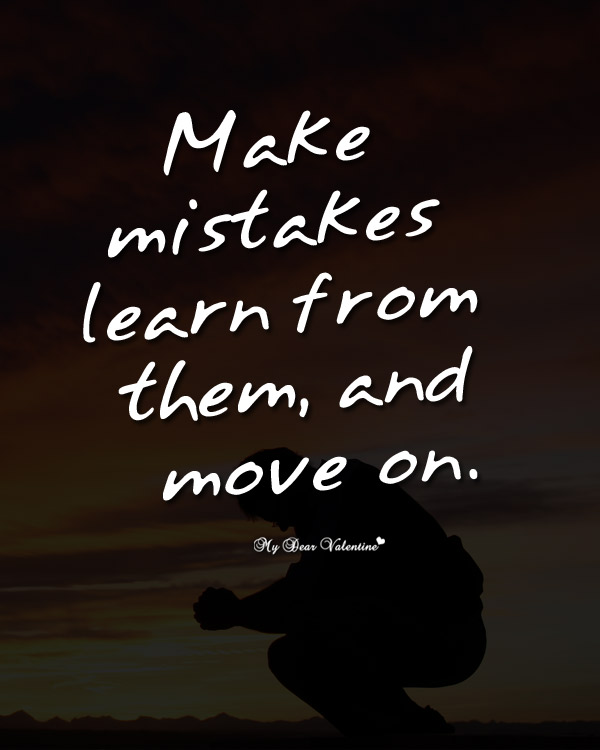 Making Mistakes Inspirational Quotes. QuotesGram