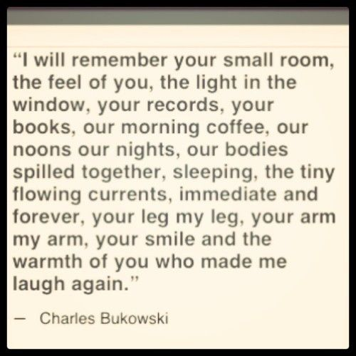 Bukowski Quotes About Women