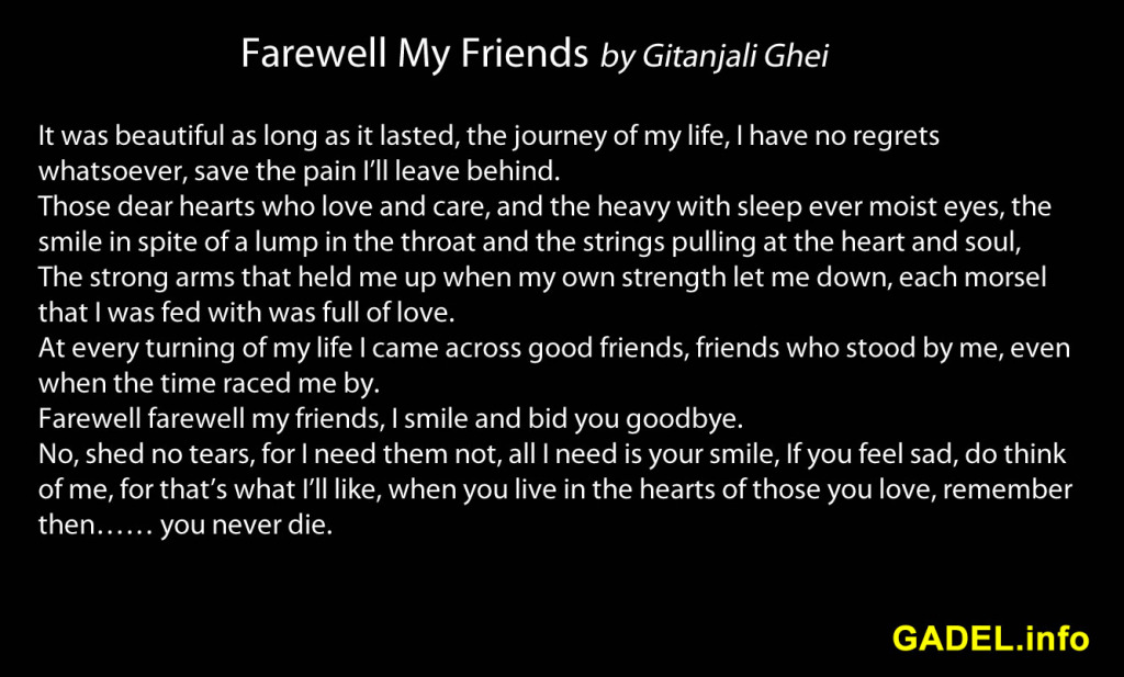 Good Quotes About Losing Friends Quotesgram: Good Bye Quotes For Friends Death. QuotesGram