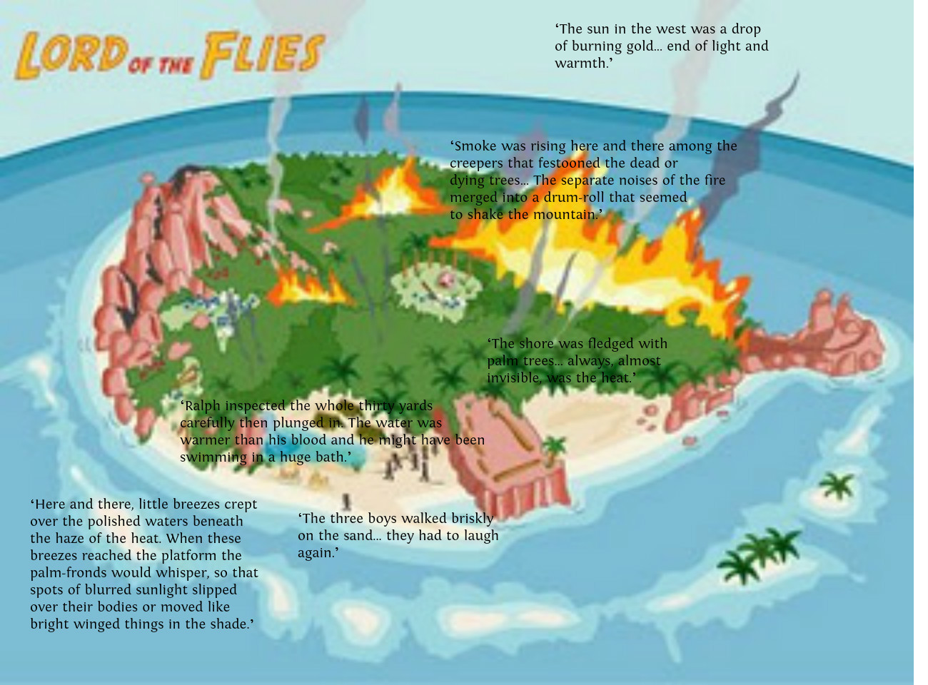 lord of the flies 24 quotes Since it was golding's first book, lord of the flies was met with little interest from  the  more than 150 years later, people still quote this line, which is a testament  to  24 sleeping, dreaming, and dying // the dalai lama bibliophiles .